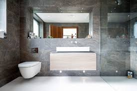 bathroom tile ideas use large tiles on the floor and walls these large
