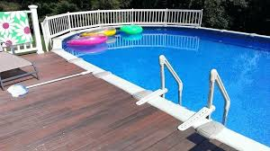 Round Pool Deck Plans Impressive Image Of Backyard Landscaping Decoration Using Above Ground