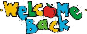 Image result for welcome back to school clipart