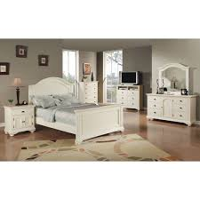 Shop Picket House Furnishings Addison White King Panel 6PC Bedroom ...