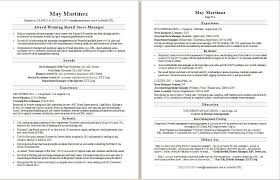 Assistant Store Manager Resume New Retail Manager Resume Sample Monster