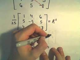 system of equations using the inverse