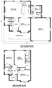 2 Story House Plans With Loft Planskill Beautiful 2 Storey House ...