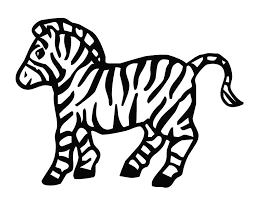 zebra coloring book 18