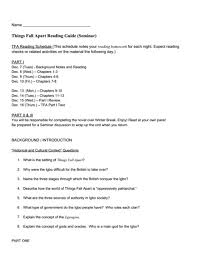 essay on things fall apart % original essay on things fall apart