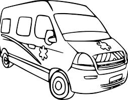 Coloriage Voiture Ambulance Imprimer Sur Coloriages Info