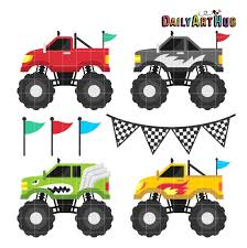 monster truck tires clipart. Modren Monster Monstruo Camin Clip Art De Cuatro Ruedas Coche Clipart Cool In Monster Truck Tires