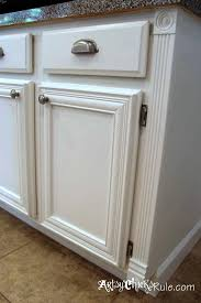 pure white chalk paint kitchen cabinets