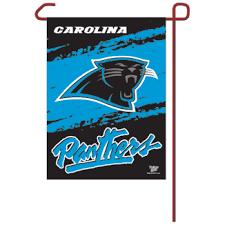 carolina panthers garden flag. Carolina Panthers Garden Flag $19.95 -Sports Posters\u2013Sports Pennants - SportsWall U