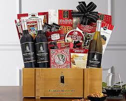 robert mondavi private selection wine gift basket gift basket at wine country gift baskets