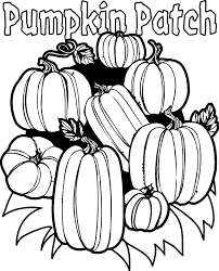 Small Picture Fall Pumpkin Coloring Pages Clipart Panda Free Clipart Images