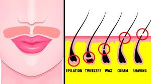 get rid of hair naturally
