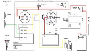 lawn mower wire diagram otosport Lawn Mower Wiring Schematics Basic Lawn Mower Wiring Diagram