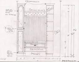 standard closet dimensions. Standard Bedroom Closet Shelf Height Functionalities Net Dimensions