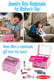 Melissa And Doug Decorate Your Own Jewelry Box Mom will love having a special place to keep her trinkets and 49