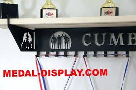 trophy holder trophy shelf with hooks personalized wrestling trophy shelf and personalized medals display medals holder white trophy icc trophy holders