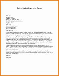 Research Assistant Cover Letter Example Supplyshock Org