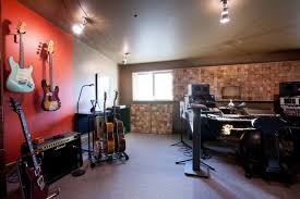 Home Music Studio eclectic-family-room