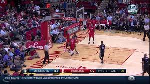 Andrew Wiggins Blocks James Harden, Runs Floor For And1 Dunk ...