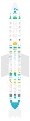 Seat Map Boeing 777 200er 772 V1 Singapore Airlines Find
