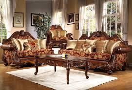 traditional sofa designs. Home Designs:Living Room Wooden Furniture Designs Traditional Sofas Living 02 Sofa