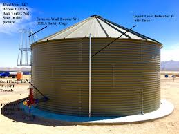 rainflo corrugated steel nfpa fire protection tank systems