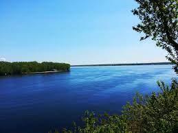 beautiful sky blue river wallpaper full ...