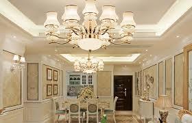 living room crystal lamp