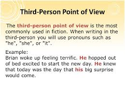 third person point of view essay writing why third person  american studies phd thesis