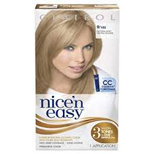 Clairol Nice N Easy Permanent Hair Color 9 103 Natural Light Neutral Blonde 1kit