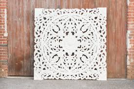 gorgeous mandala lotus carved wall