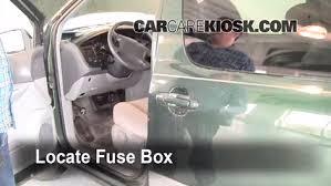 interior fuse box location 1998 2003 toyota sienna 1999 toyota how to find a fuse box locate interior fuse box and remove cover