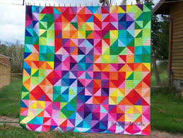 119 best Rainbow Quilts images on Pinterest | Quilting, Flower and ... & Busy Hands Quilts: Custom Queen Postcard From Sweden {Finished! Adamdwight.com
