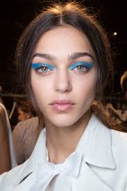 spring 2016 runway beauty hair makeup and nails from new york fashion week spring 2016