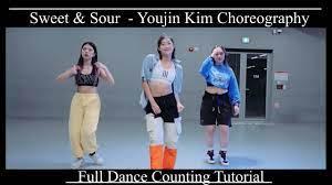 Jawsh 685 - Sweet & Sour / 1Million Youjin Kim Choreography 1M/ Counting  tutorial [mirrored] - YouTube