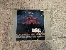 ford f53 manuals literature 1995 ford f53 stripped chassis motorhome electrical vacuum wiring diagram manual