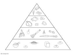 Disegno Da Colorare Piramide Alimentare Cat 5691 Images