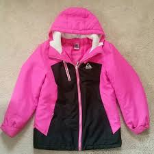 A Girls Size 10 12 Gerry 2 In 1 Winter Coat