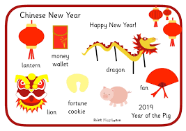 Chinese New Year Word Mat 2019 Free Teaching Resources Print