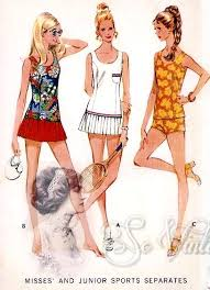 Vintage Sewing Patterns Classy 48s Sports Separates Pattern Bathing Suit Or Tennis Dress McCalls