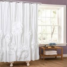 vintage shower curtain. Serena Shower Curtain In White Vintage T