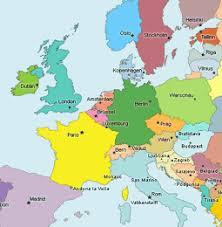 Europakarte gemischt mit länderflaggen alle europäischen flaggen vektor sammlung. Europakarte Die Karte Von Europa