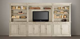 Library Wall System Collection Media Wall Cabinet51