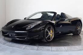 ferrari 458 spider blacked out. ferrari 458 spider blacked out r