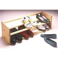 shoe rack able plan stackable organizer wooden shoe racks