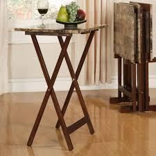 Decorative Tv Tray Tables TV Trays You'll Love Wayfair 42