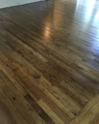 3 in hickory wood floor jacobean minwax stain minwax satin poly oil based 2 coats