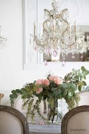 chandelier makeover ideas spring