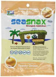 SeaSnax <b>Roasted Seaweed</b> Snack, <b>Toasty Onion</b>, 5 Sheets - Buy ...
