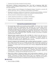 Hr Administrator Resume Sample Hr Admin Resume Objective For Resume